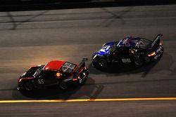 #85 Farnbacher Loles Racing Porsche GT3: Michael Gomez, Daniel Graeff, Wolf Henzler, Ron Yarab Jr., #65 TRG Porsche GT3: Marco Holzer, Bryce Miller, John Potter, Craig Stanton