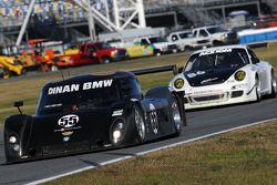 #55 LevelFive Motorsports BMW Riley: Christophe Bouchut, Scott Tucker, Ed Zabinski, #86 Farnbacher L