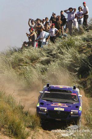 #301 Volkswagen Touareg: Carlos Sainz y Michel Périn