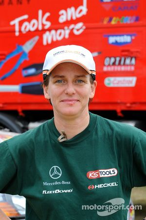 Team FleetBoard Mercedes-Benz: Ellen Lohr
