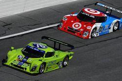 #76 Krohn Racing Ford Lola: Nic Jonsson, Darren Turner, Ricardo Zonta, #02 Chip Ganassi Racing with Felix Sabates Lexus Riley: Scott Dixon, Dario Franchitti