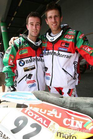 Luis Ferreira et Pedro Bianchi Prata