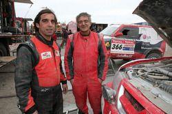 Nuno Pedro Inocencio et Jaime Santos