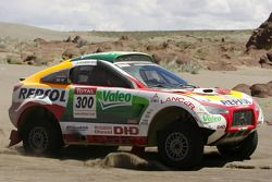 #300 Mitsubishi Racing Lancer: Stéphane Peterhansel y Jean-Paul Cottret