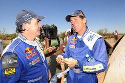 Carlos Sainz y Mark Miller