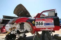 #366 Mitsubishi Pajero de Francisco Inocencio et Paulo Fiuza