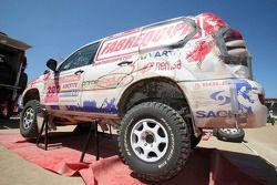 #399 Toyota Land Cruiser Prado de Francisco Pita et Humberto Goncalves