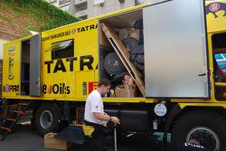 Loprais Tatra Team service vehicle