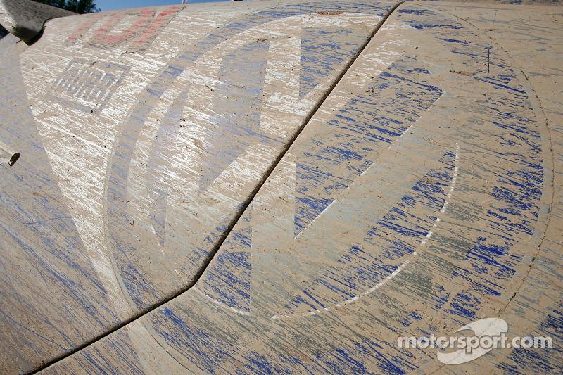 Barro en el #301 Volkswagen Touareg de Carlos Sainz y Michel Périn
