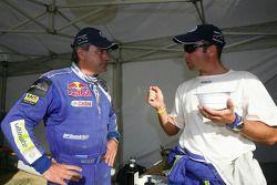 Carlos Sainz y Giniel de Villiers