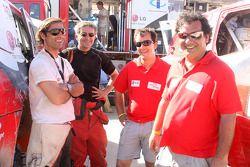 Nuno Pedro Inocencio, Jaime Santos, Francisco Inocencio et Paulo Fiuza