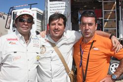 Francisco Pita, Martine Campos Pereira et Adelio Machado