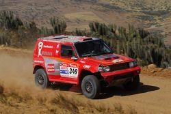 #349 Mitsubishi Pajero: Boris Bukatov et Sergey Dodonov