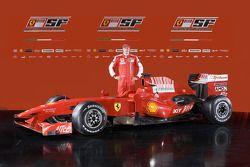 Kimi Raikkonen ve yeni Ferrari F60