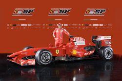 Felipe Massa ve yeni Ferrari F60