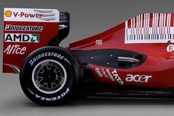 detay, yeni Ferrari F60