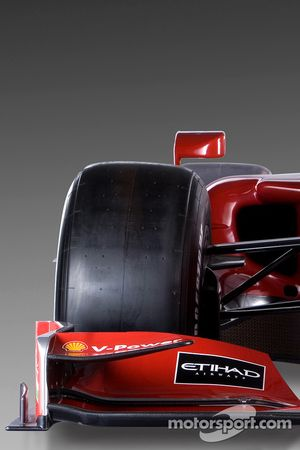 La nouvelle Ferrari F60 vue de plus près
