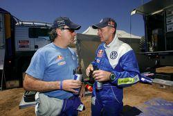Carlos Sainz y Ralph Pitchford