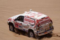 #399 Toyota Land Cruiser Prado: Francisco Pita et Humberto Goncalves