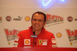 basın toplantısı: Stefano Domenicali, Ferrari