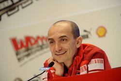 Conférence de presse: Claudio Domenicali, Ducati