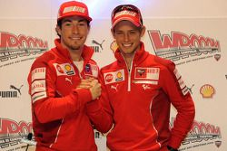 Conferencia de prensa: Nicky Hayden and Casey Stoner, Ducati