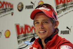Conférence de presse : Casey Stoner, Ducati