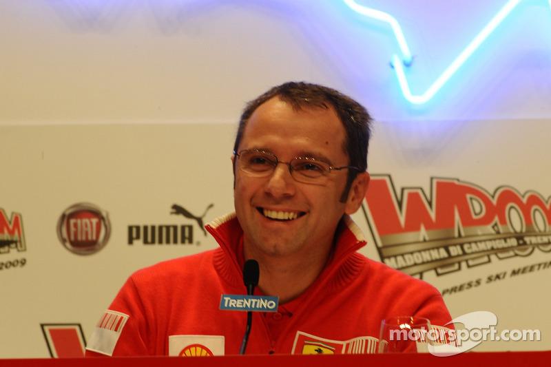 Conferencia de prensa: Stefano Domenicali, Ferrari