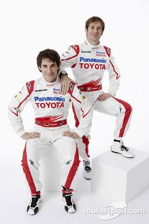 Timo Glock und Jarno Trulli, Toyota
