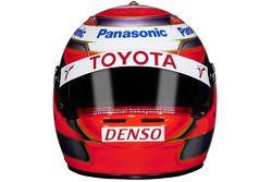 Le casque de Kamui Kobayashi