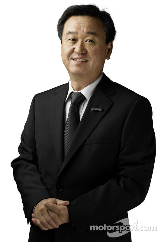Tadashi Yamashina, Chairman and Team Principal