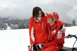 Casey Stoner et sa femme, Adriana