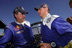 Carlos Sainz y Michel Périn