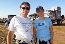 Ricardo Leal Dos Santos et Elisabete Jacinto