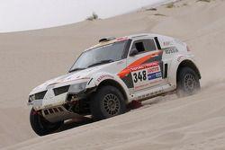 #348 Mitsubishi Pajero Evolution: Alexey Berkut et Anton Nikolaev
