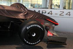 Unveiling, yeni McLaren Mercedes MP4-24