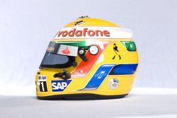 Helm von Lewis Hamilton