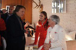 Luca di Montezemolo, Tamara Ecclestone et Bernie Ecclestone