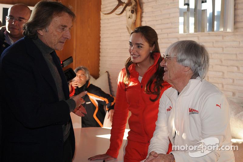 Luca di Montezemolo, Tamara Ecclestone ve Bernie Ecclestone