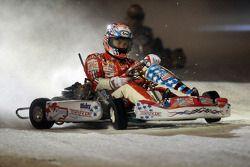 Carrera de Kart sobre hielo: Nicky Hayden