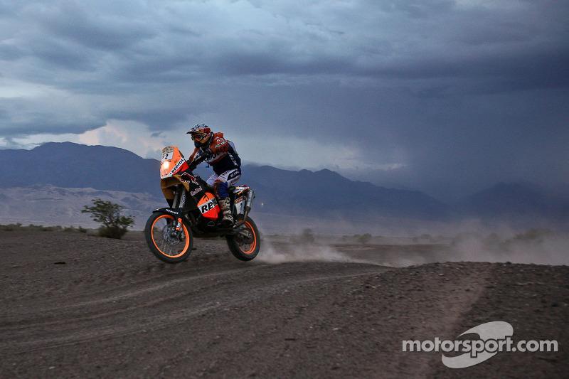 #2 KTM 690 Rallye: Marc Coma