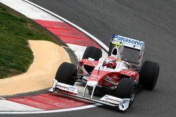 Kamui Kobayashi, Testcoureur, Toyota F1 Team, in de nieuwe TF109