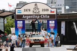 Car category podium: Christian Barbier and Jean-Michel Richaud