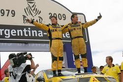 Car category podium: Tonnie Van Deijne and Wouter Rosegaar