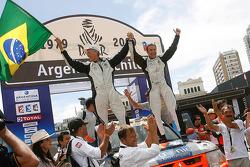 Car category podium: Paulo Henrique Pichini and Lourival Roldan