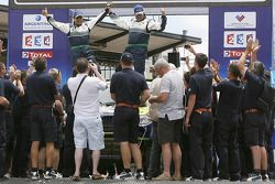 Podium catégorie voiture : René Kuipers et Filipe Palmeiro, 18èmes