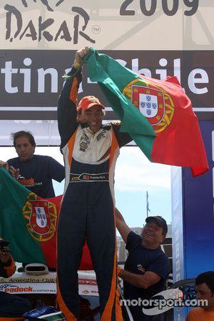 Podium catégorie voiture : Francisco Pita