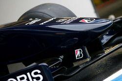 yeni Williams FW 31 nose detay