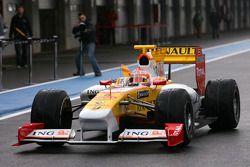 Nelson Piquet Jr, Renault F1 Team, in de nieuwe R29