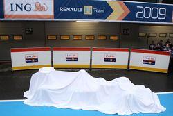 yeni Renault R29 under veil